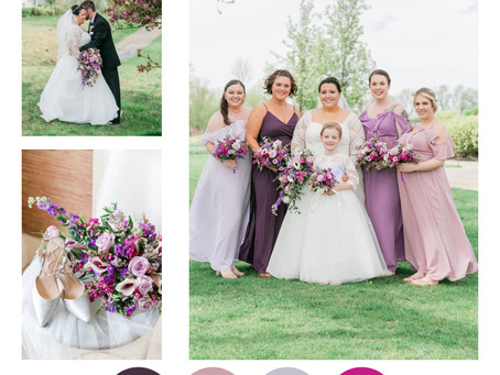 Color inspiration for your spring wedding