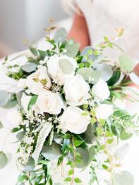 Bride Bouquet - Barn on Bridge - Andrea Krout Photography