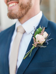 Grooms Boutienniere - Stacey Lynn Photography