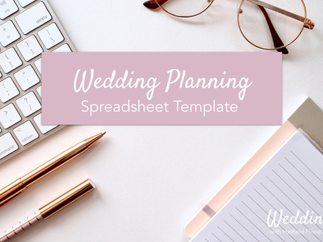 How to use the Editable Wedding Planning  Spreadsheet Template