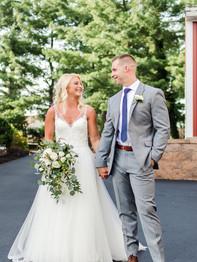 Happy couple - Barn on Bridge - Andrea Krout Photography