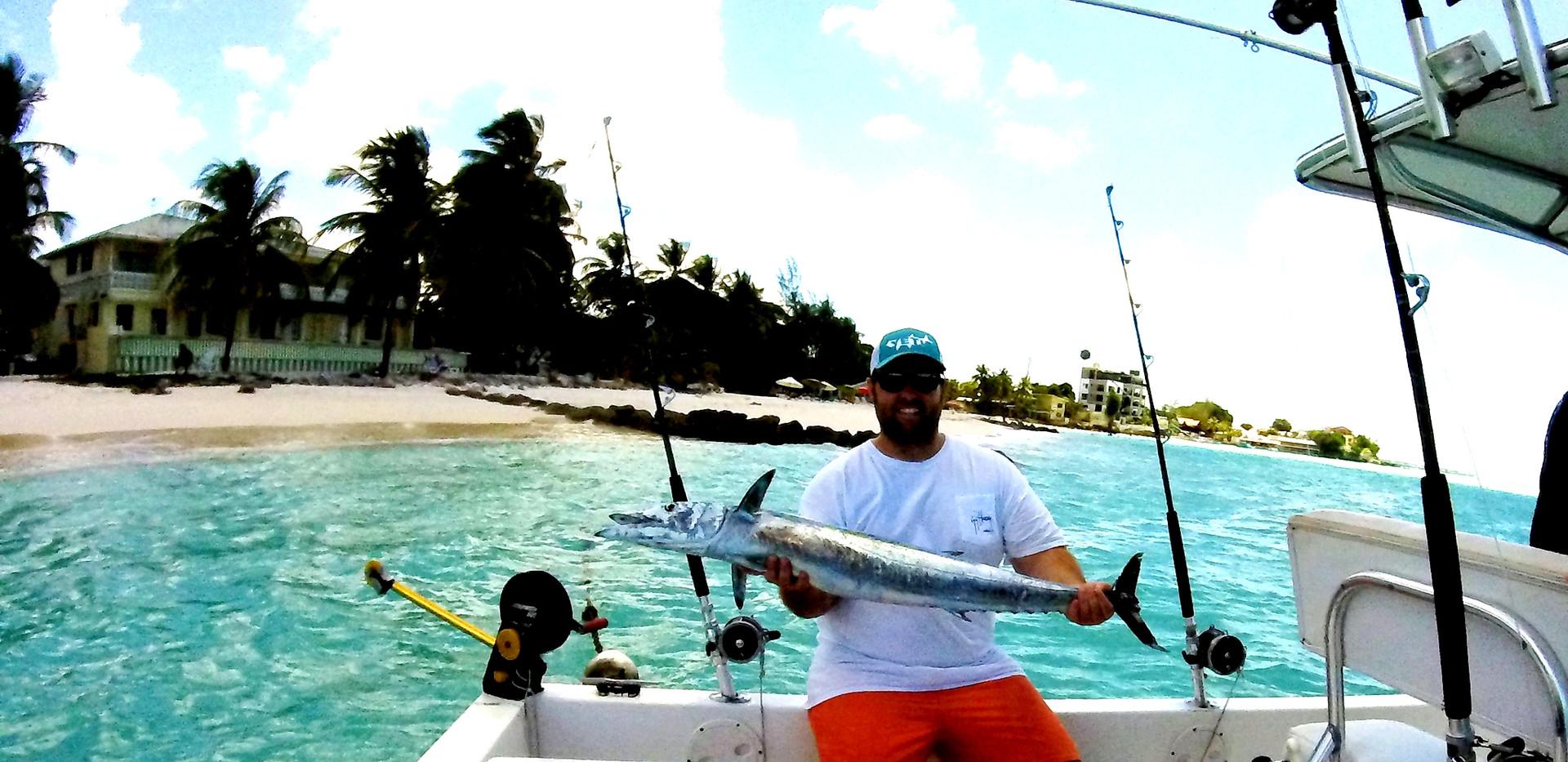 Good fishing action,
