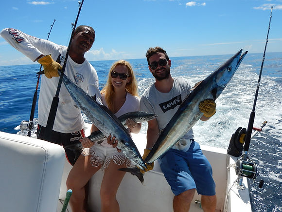 Big catch of fish in Barbados