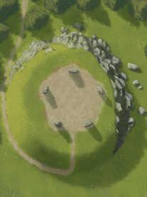 Moonlight_Maps_Hilltop_Ritual_stones_25x