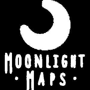 Moonlight Maps Name Logo Icon