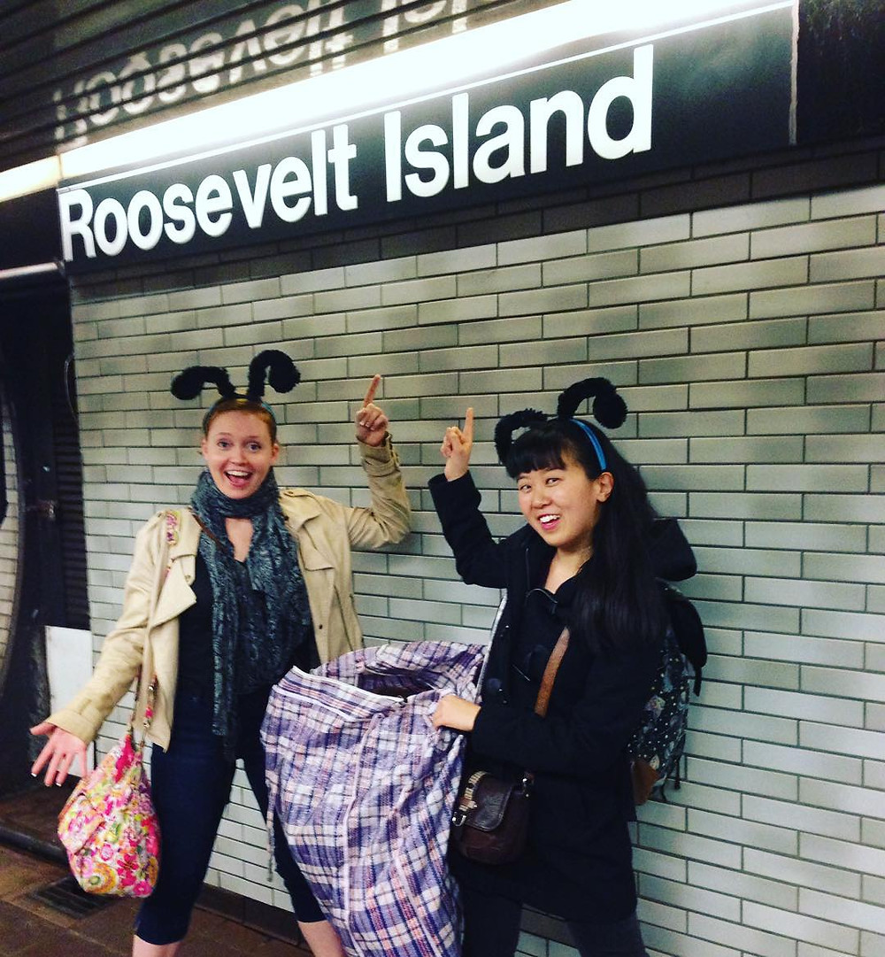 """Urban Stages touring children's show """"Jungle Explorers"""" travels to Roosevelt Island!"""