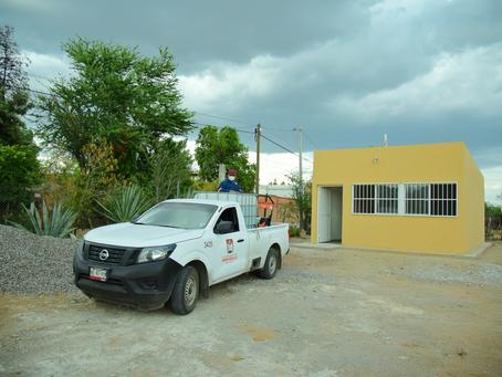 Entrega alcaldesa Celida López obra en centro comunitario de la colonia Palo Verde