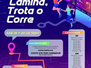 "Invita IDJH a participar en la carrera virtual ""Camina, trota o Corre"""