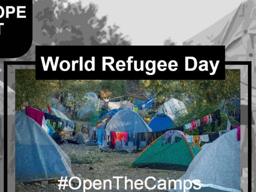 Join us for the World Refugee Day on June 20, 2020 to #OpenTheCamps