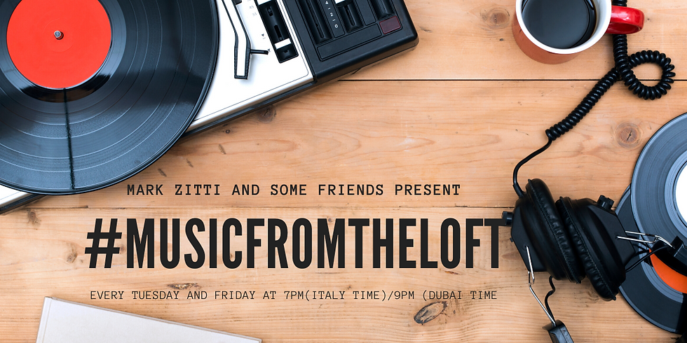 #musicfromtheloft