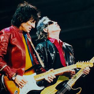 Ron Wood(links) & Keith Richards