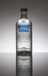 Vodka...