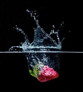 Erdbeer Splash