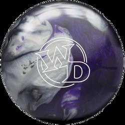 White Dot Black Purple SIlver