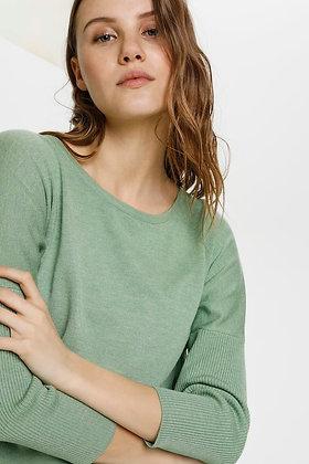 Saint Tropez Mila Sweater Basil Melange