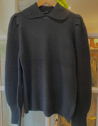 BYoung BYMartine Collar Sweater Black
