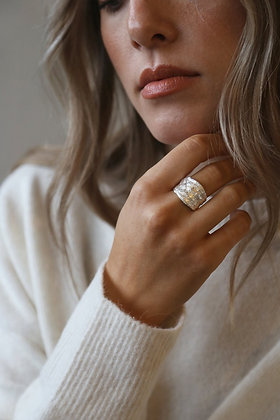 Tutti and Co Hudson Ring Silver.