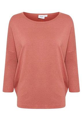 Saint Tropez Mila Sweater Brick Dust