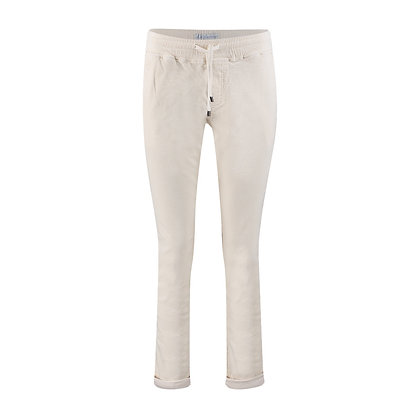 Red Button Tessy Cord Joggers Ivory