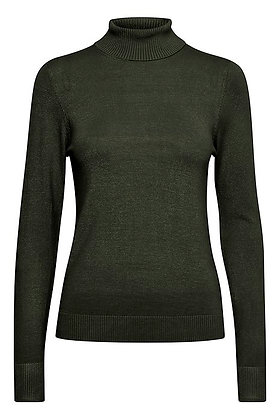 BYoung Pimba Rollneck Dk Green