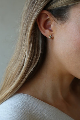 Tutti and Co Midnight Earrings Gold