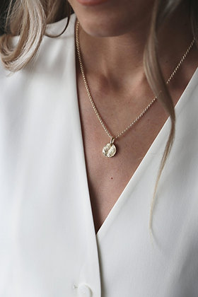 Tutti and Co Frost Necklace Gold