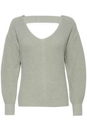 Pulz Pullover with Strap Detail Sage