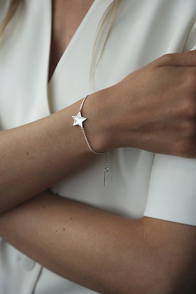 Tutti and Co Midnight Bracelet Silver