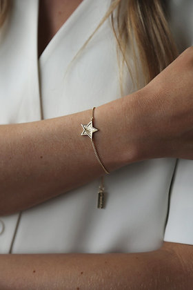Tutti and Co Midnight Bracelet Gold