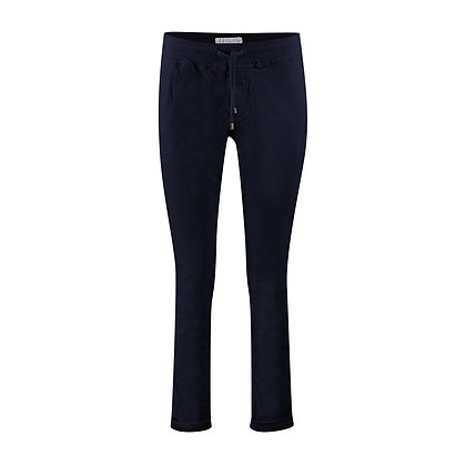 Red Button Tessy Cord Joggers Mid Blue