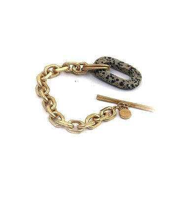 Envy Gold bracelet with Speckle Hoop detail