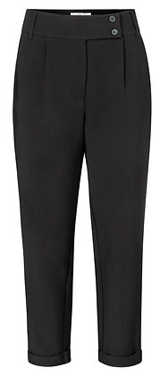 Yaya  High Waist Trousers with Double Button