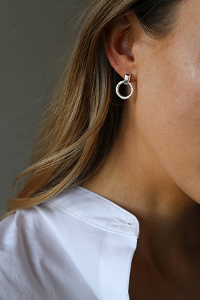 Tutti and Co Revive Earrings Silver