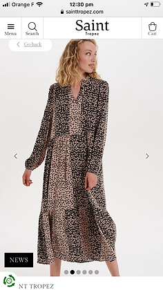 Saint Tropez Ibeth  Dress print