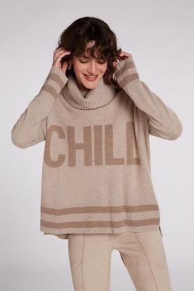 Oui Chill Sweater Caramel Tones