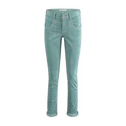 Red Button Sienna Velvet Jeans Dusty Jade