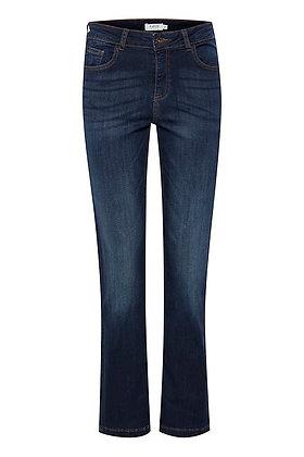 BYoung Lola Luni  Straight Leg Jeans Dark Ink