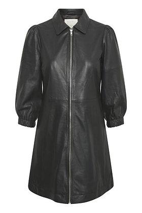 Part Two Eyvor Dress Black Leather