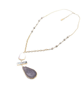 Envy Gold Chain Necklace with Statement Pendants
