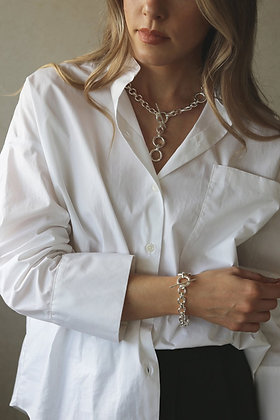 Tutti and Co Revive Necklace Silver