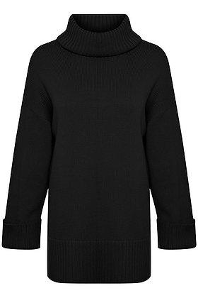Part Two Keike Sweater Cotton Black