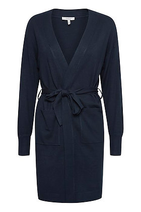 BYoung ByPimba Belted Cardigan Navy