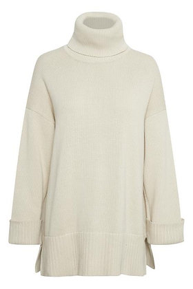 Part Two Keike Sweater Cotton Ecru