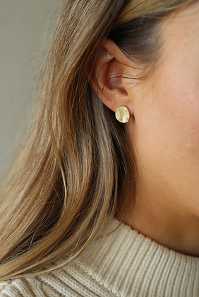 Tutti and Co Frost Earrings Gold