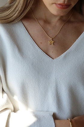 Tutti and Co MidnightNecklace Gold