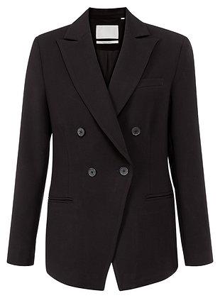 Yaya Fitted Blazer Black