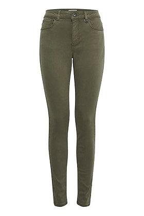 Pulz Zemma Skinny Jeans Grape Leaf