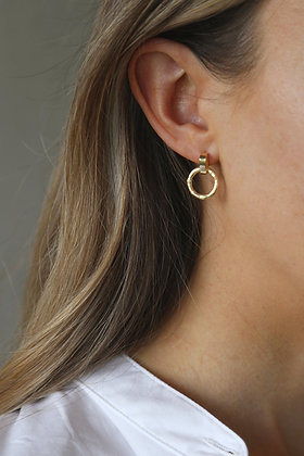 Tutti and Co Revive Earrings Gold