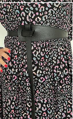 Luella Knot Belt Black