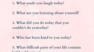 7 Questions to Help Increase and Practice Gratitude Daily